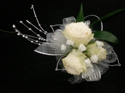 Classy Candelight Prom Corsage