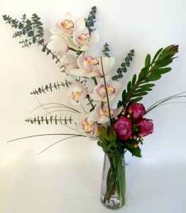 Classy Lady  Fresh Vase Arrangement