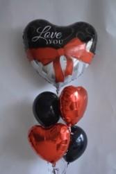 Classy Love balloons