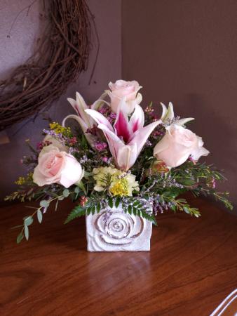 Classy love Fresh arrangement