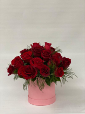 Classy Romance  Hat box