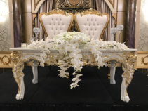 Classy Sweetheart Table