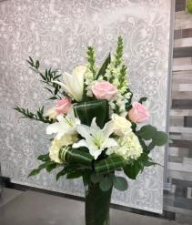 Classy Vase Arrangement  Vase with mixed flowers