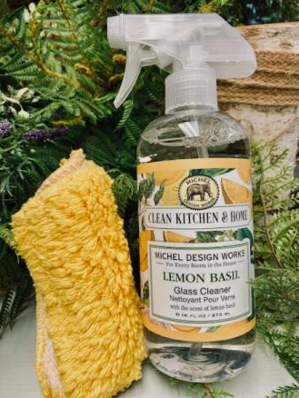 CLEAN KITCHEN & HOME LEMON BASIL