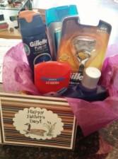 Clean Shave Gift Basket Gift Basket