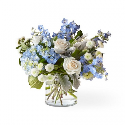 Clear Skies Bouquet NFG (Deluxe Shown)