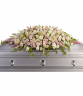 Closed Casket Of Roses...  Funeral