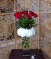 Cloud Nine Red Rose Arrangement