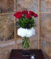 Cloud Nine Red Rose Arrangement