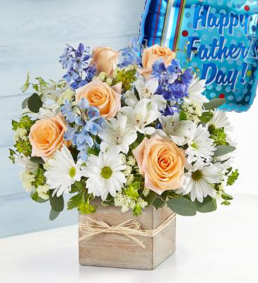 Coastal Breeze for Dad Floral Arrangement
