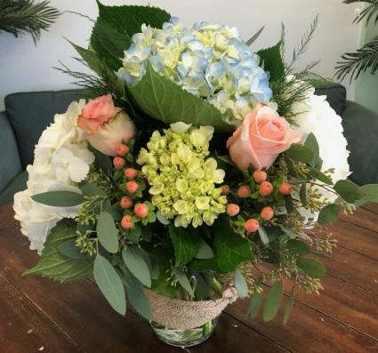 Coastal Chic Vase Arrangement