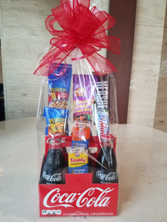 Coca Cola Gifts >> Coca Cola Gift Basket In Charlotte Nc Flowers Plus