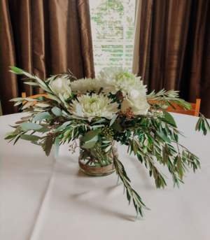 Cocktail Table Centerpieces Wedding Arrangement  in Biloxi, MS | Rose's Florist