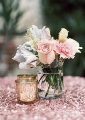 Cocktail Wedding Flowers Wedding Reception