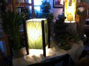 Cocoa Leaf Lamps  in New Buffalo, MI | CITY FLOWERS & GIFTS
