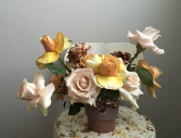 Cocoa Rose Arrangement