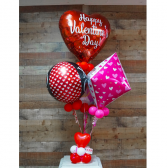 Cody's Red Balloon Bouquet