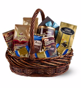Coffee & Chocolates Gift Basket in Whitesboro, NY | KOWALSKI FLOWERS INC.