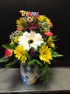 Coffee Cup Bouquet  in Morinville, AB | THE FLOWER STOP & GIFT SHOP