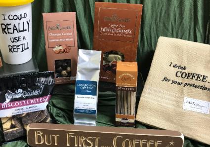 Coffee Drinker's Delight Gift Basket