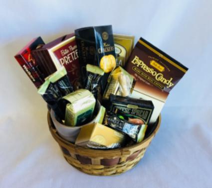Coffee Lovers Basket Gourmet Basket