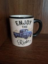 Coffee Mug Enjoy the Ride