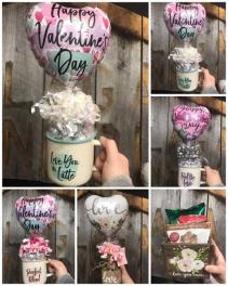 Coffee Mug/Container or Mason Jar sets!