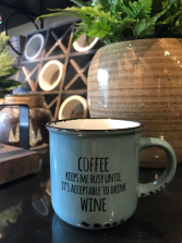 Coffee & Wine Mug