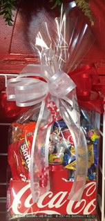 Coke Junk Food Box Candy Arrangement