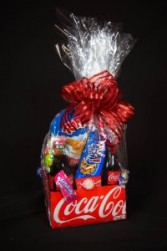 Coke Packs Candy/Snack Basket