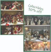 Collectibles are 30% off