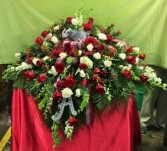 College-themed floral blanket Funeral Flowers