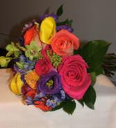 Color Bright  Handheld Bouquet