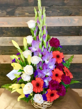 Color Burst Fresh Arrangement