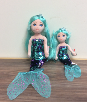 Color changing sequence mermaid Plush