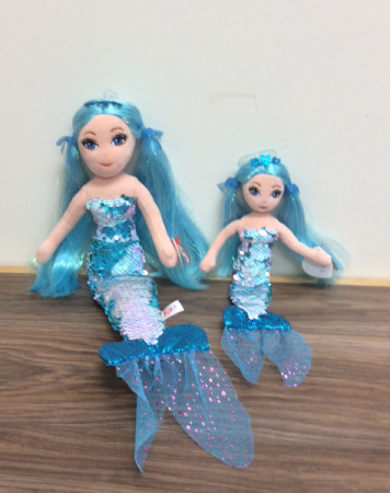 Color changing sequence mermaids Plush