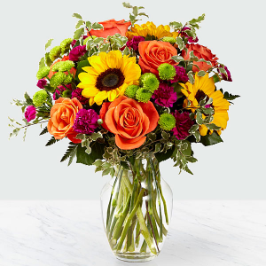 Color Craze Vase in Macon, GA | PETALS, FLOWERS & MORE