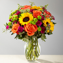 Color Craze Vase Arrangement