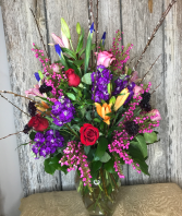 Zazzle Razzle Vase Arrangement