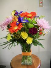 A Bright Bouquet for MOM