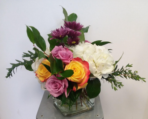 Color Harmony Cubed Cube Vase in Norway, ME | Green Gardens Florist & Gift Shop