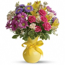Color Me Happy Floral Bouquet in Whitesboro, NY | KOWALSKI FLOWERS INC.
