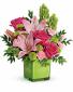 COLOR ME HAPPY Vase Arrangement