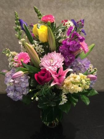 Joyful Splendor Vase Arrangement