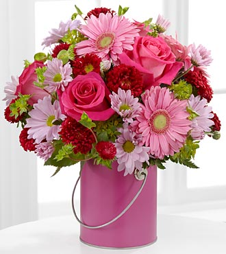 Color Me Pink Arrangement