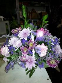 Color me purple  Basket