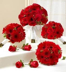 Color Me Red Bouquet