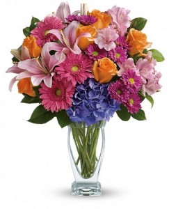 Color Me Up Flower Arrangement