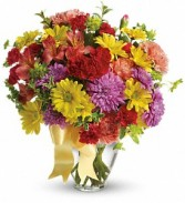Color Me Yours Bouquet        TEV31-7 Birthday Vase
