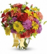 Color Me Yours Bouquet Vase Arrangement